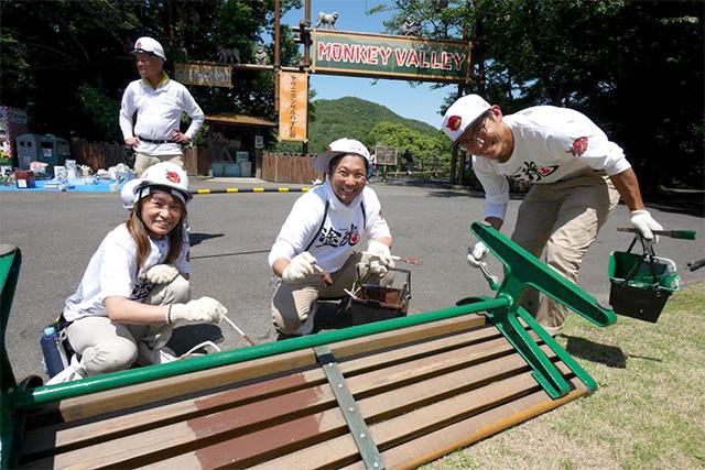 犬山モンキーセンターボランティア